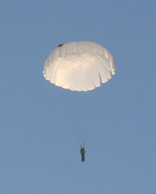 высота для прыжка с парашюта: